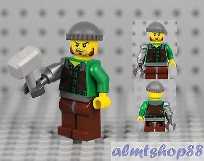 LEGO Monster Fighters - Jack McHammer Minifigure 9468 9465 Vampyre Castle   (Mc Hammer Jacke)