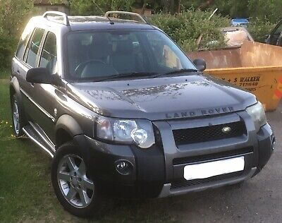 Freelander 1 17inch Alloy Wheels x5 Excellent Condition With 225/55R17 Tyres
