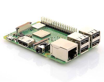 2018 Version - Raspberry Pi 3 Modell B+ Plus 1,4 GHz 64Bit Quad Core WLAN 5 GHz
