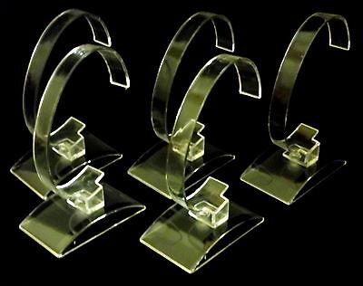 5x Acryl Uhrenständer Uhrenaufsteller Uhrenhalter Uhrendislay Uhr Aufsteller