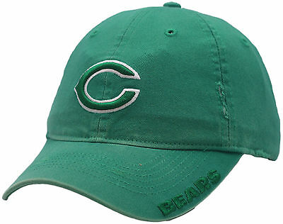 Saint Patrick Day Hats (Chicago Bears St. Patrick's Day Buckle Back Hat)