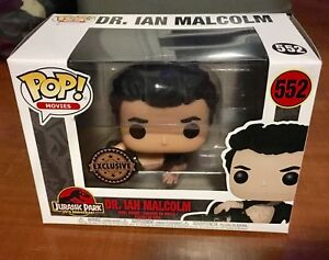 Funko POP! Dr. Ian Malcolm EXCLUSIVE