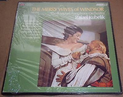 Kubelik NICOLAI The Merry Wives of Windsor - London OSA 13127 SEALED