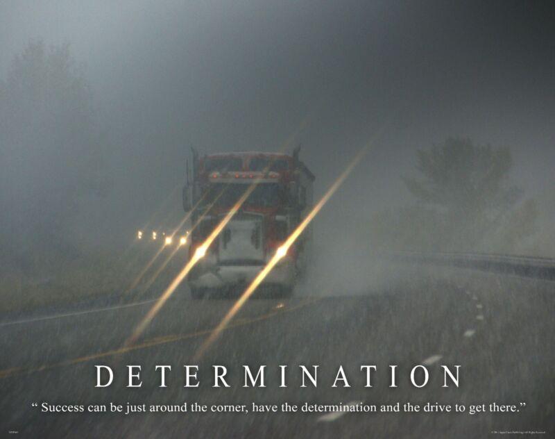 Semi Truck Poster | eBay