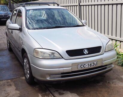 Holden Astra 2001 TS Hatch