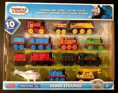Thomas & Friends TrackMaster Sodor Steamies Train Engines Set Fast Shipping
