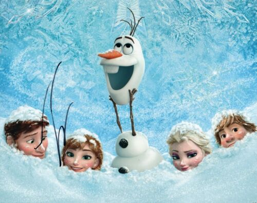 Entertainment Memorabilia Josh Gad Frozen Autographed Signed 8x10 Photo Coa Ef637