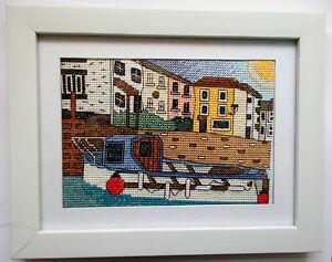 Polperro-harbour-cornwall-cross-stitch-kit-emma-louise-art-stitch