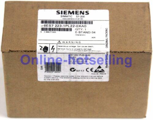 1PC New Siemens 6ES7 223-1PL22-0XA0 6ES7223-1PL22-0XA0 Digital I/O Module