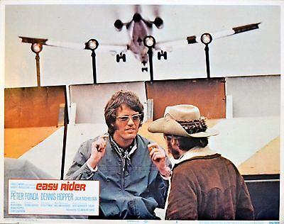 EASY RIDER 1969 Peter Fonda Dennis Hopper LOBBY CARD #4