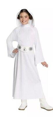 Star Wars Princess Leia Girls Child Halloween Costume - Rubies Medium 8-10](Baby Princess Leia Halloween Costume)