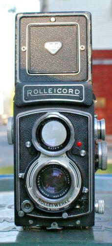 Rolleicord Vb 6x6cm on 120 Rollfilm Camera, Second version