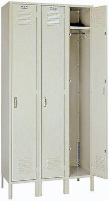 Lyon Standard Steel Gym School Athletic Industrial Metal Lockers One Tier 5032-3
