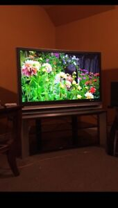 "Sony 46"" LCD HD Tv with stand"