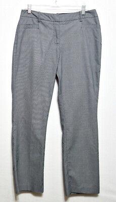 Ladies Micro Poly Pants (Cato Ladies Black and White Micro Check Poly Cotton Petites Pants - Size)