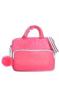 Grande Handbag Bag - ARIANA GRANDE PINK PLUSH POM POM LAPTOP BAG MESSENGER HANDBAG PURSE BAG
