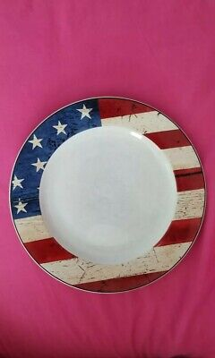 SAKURA COLONIAL AMERICAN FLAG WARREN KIMBLE Patriotic 10 3/4