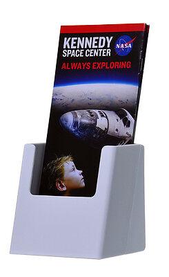 Lot of 12 Tri-Fold Rack Card Brochure Holder HIGH QUALITY White Acrylic USA