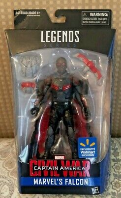 Marvel Legends Falcon Captain America Civil War Wal Mart Exclusive MOC