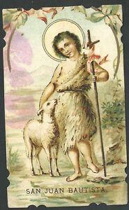 Estampa-antigua-de-San-Juan-Bautista-andachtsbild-santino-holy-card-santini