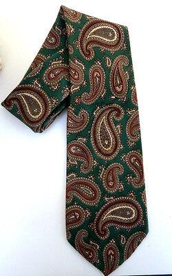 1940's wartime style men`s vintage spiv silk tie