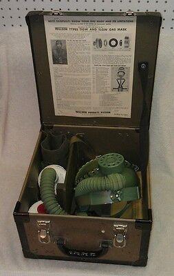 Vietnam Era Gas Masks, Rescue w/ Hard Case, Willson Products, Reading, PA, EXC!
