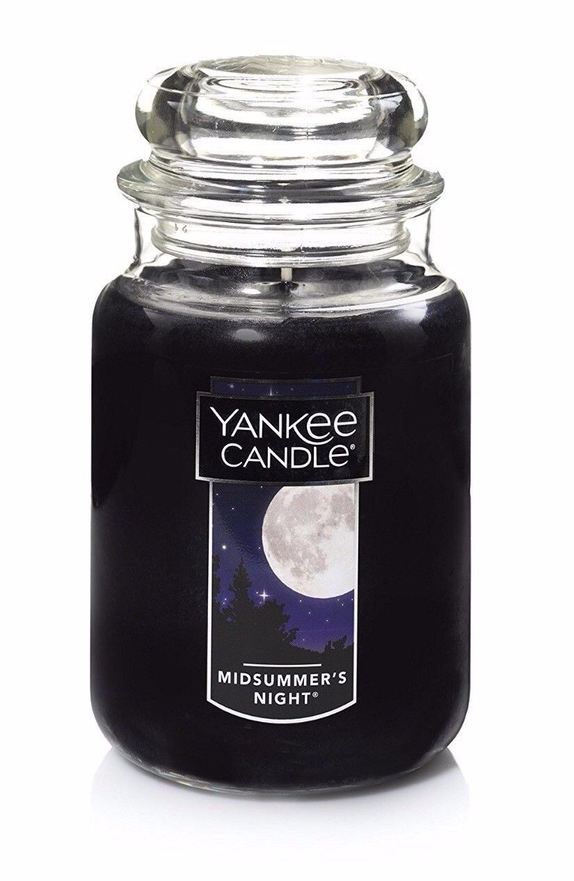 Yankee Candle Company Midsummer's Night Large Jar Candle NEW