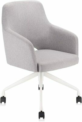Upholstered Home Office Desk Chair Swivel Comfy Back Support Conference Room