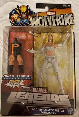 """6"""" Hasbro Marvel Legends 2012 Puck BAF Emma Frost New In Hand ( Pre Owned )"""
