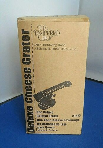 Pampered Chef Deluxe Cheese Grater #1275-New #1258