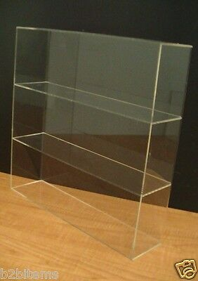 Ds-acrylic Counter Top Display Case 16 X 4 X 16 Show Case Cabinet Shelves