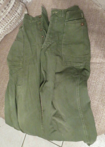 WW2 HBT 2nd Pattern Trousers (Scarce version)