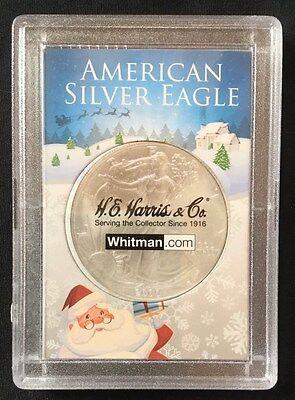 Eagle One Santa (American Silver Eagle - From Santa - Plastic 2