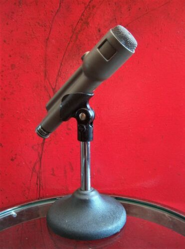 Vintage 1971 Electro Voice 666 dynamic cardioid microphone w clip PROP / DISPLAY