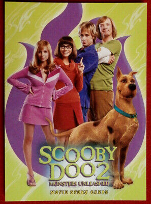 SCOOBY DOO 2 - MONSTERS UNLEASHED - Promo Card P3 - Inkworks 2004