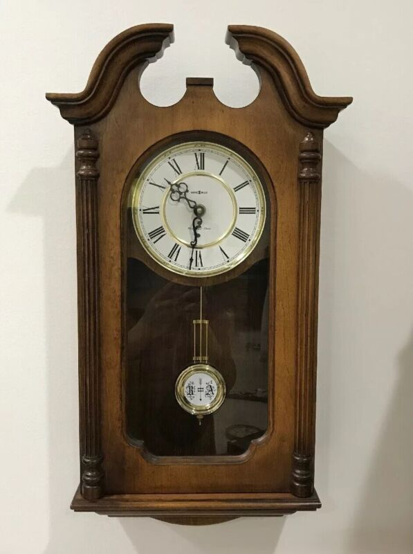 Howard Miller Wall Clock Danwood Model 612-697 Westminster Chimes