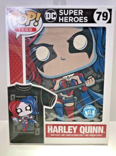 Funko POP TEES HARLEY QUINN T-shirt Tee, ADULT XL IN BOX