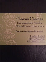 Affordable cleaning done with pride and quality.
