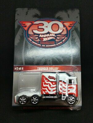 HOT WHEELS 30TH COLLECTORS CONVENTION LIMITED EDITION #2600 THUNDER ROLLER