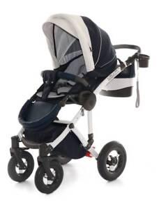 Pram , stroller, footmuff,umbrella, carrycot  -  Koyo pram