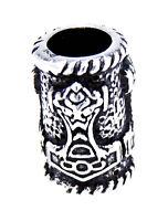 Perle Argento 925 Martello Di Thor Vichingo Viking Gioielli Per Barba Bart - martell - ebay.it