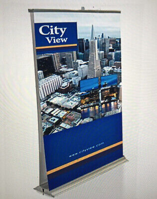 Double Sided Premium Retractable Roll Up Banner Stand Pop Up Trade Show Stand