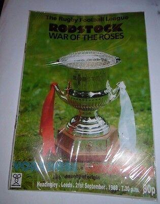 Yorkshire v Lancashire 21st September 1988 War of the Roses @ Headingley, Leeds
