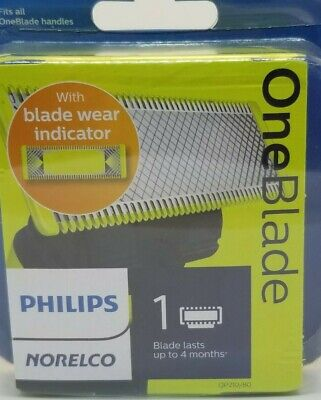 Philips QP210/80 Norelco OneBlade Replacement Blade 1 Cartridge New Sealed