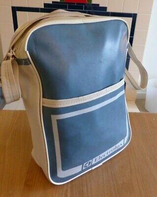 Vintage Electrolux Flight Bag Blue White Shoulder Vacuum Hoover Retro FREE P+P!!