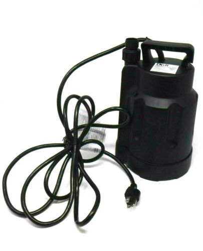 Do-It Submersible Utility Pump Model#: 473685 1/4HP 1600 GAL. Per Hour (NEW)