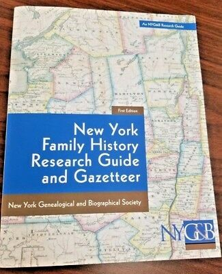 New York Family History Research Guide and Gazetteer