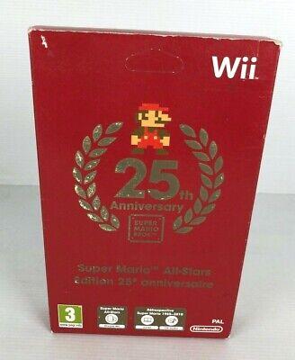 NINTENDO Wii SUPER MARIO ALL STARS EIDTION 25TH ANNIVERSAIRE PAL FR