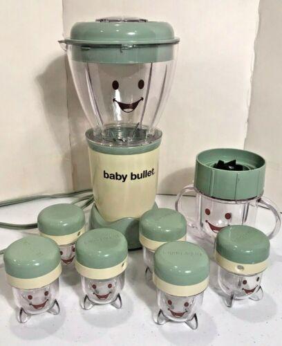 Magic Baby Bullet Complete Food Blender Processor System