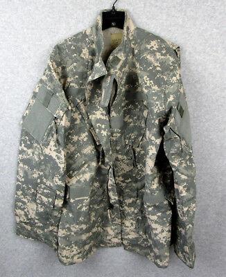 Army ACU Digital Camo Uniform Aircrew Coat Jacket Combat NWT Medium Long